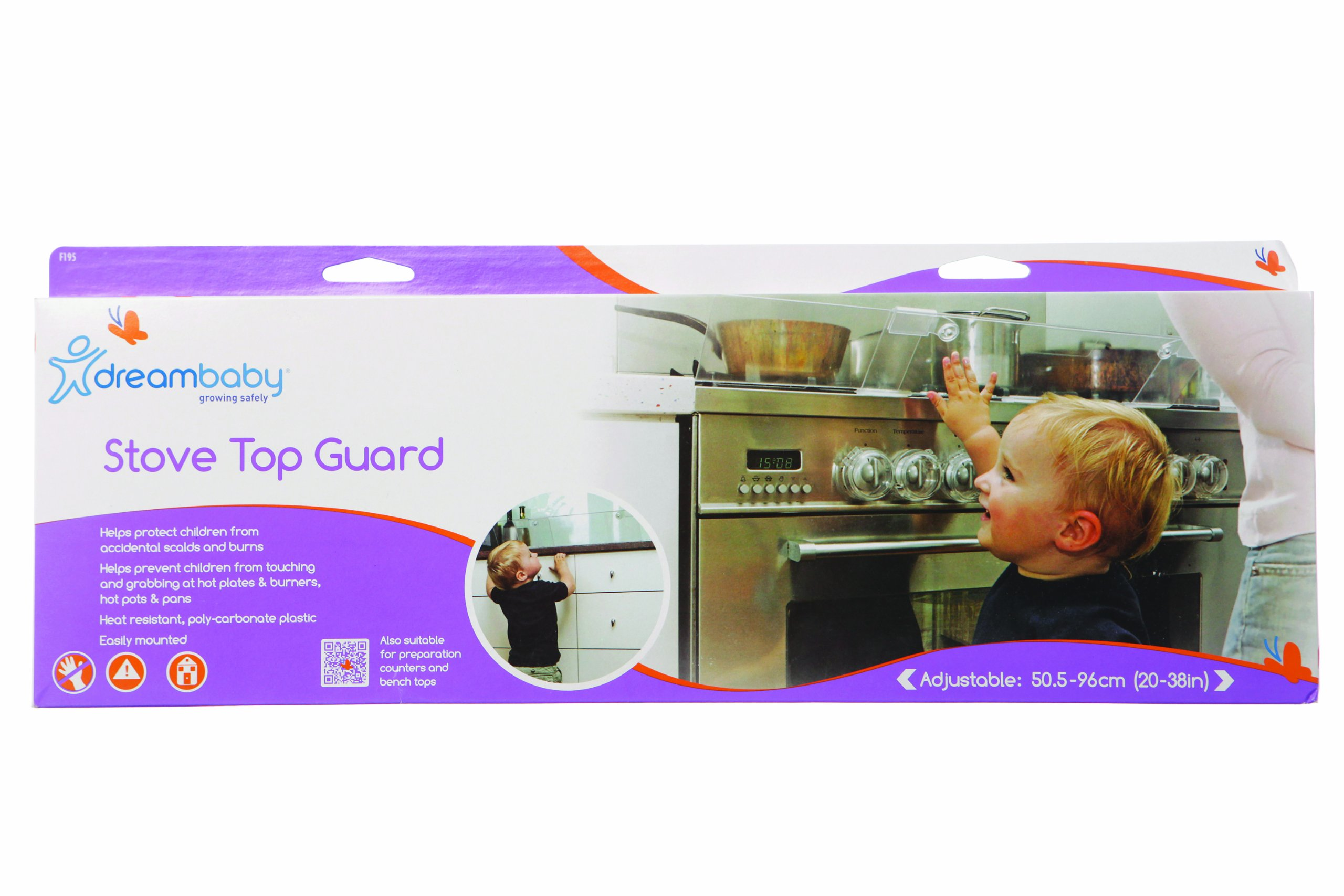 Dreambaby Stove Top Guard (Transparent) by Dreambaby (Image #5)