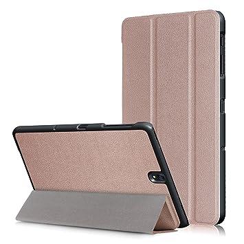 H/ülle f/ür Samsung Galaxy Tab S3 SM-T820 T820N SM-T825 T825N 9.7 Zoll Smart Cover mit Auto Sleep//Wake Touchpen Schwarz