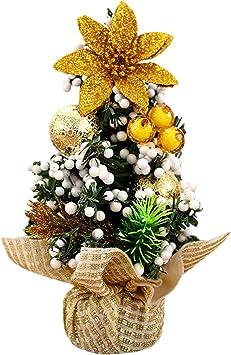 20cm Árboles de navidad Adorno Decoración de Mesa Hogar / 3 Colors,Longra (Oro): Amazon.es: Bricolaje y herramientas