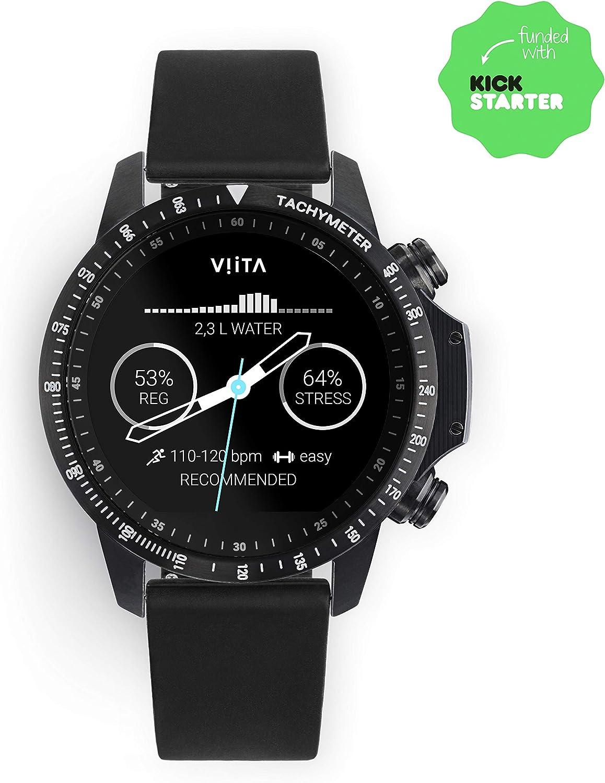 Amazon.com: VIITA Active HRV Tachymeter Black, Smartwatch ...