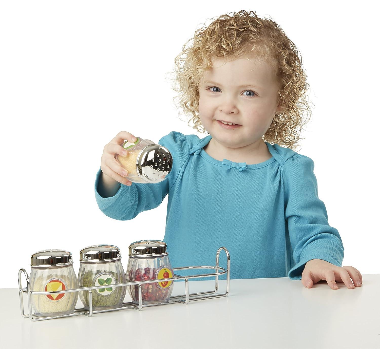 Amazon.com: Melissa & Doug Condiments Set (6 pcs) - Play Food ...