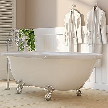Luxury 60 Inch Clawfoot Tub With Vintage Tub Design In