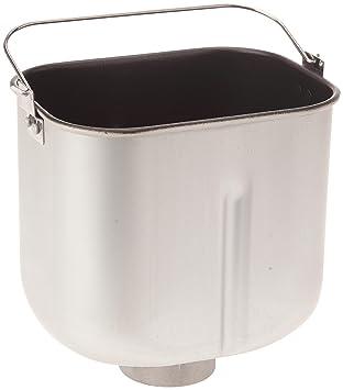 Domo DO-B3949 - Depósito para máquina para hacer pan, color gris