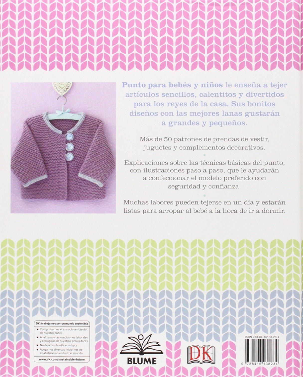Amazon.fr - Punto para bebés y niños: 50 patrones sencillos - Isabel ...