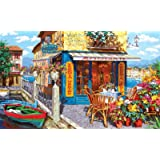 """Puzzles for Adults 1000 Piece Jigsaw Puzzles 1000 Pieces for Adults Large Puzzle Game Toys Gift Dock Bar 27.2"""" x 20.1""""…"""