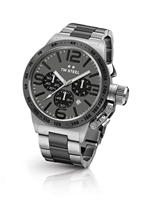 f004ffccb525 Image Unavailable. Image not available for. Color  TW Steel Men s Canteen  Quartz Watch ...