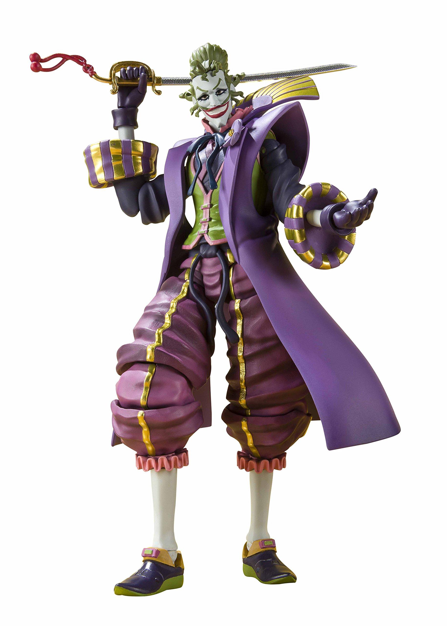 Tamashii Nations - Ninja Batman: The Joker S.H.Figuarts Figure, 8''
