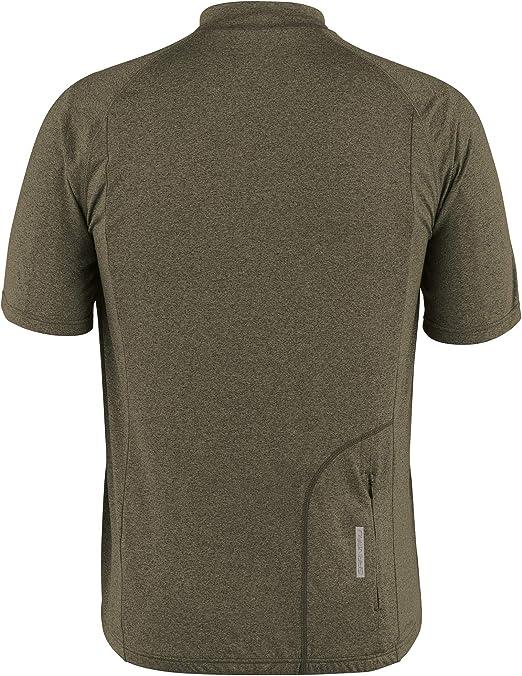 Short Sleeve Full Zip Cycling Jersey Louis Garneau Mens Manchester Breathable Moisture Wicking