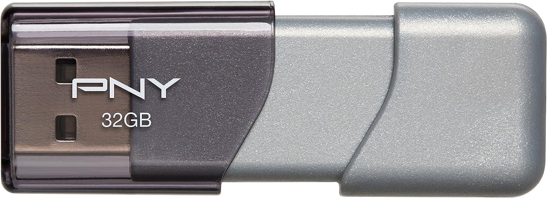 PNY Turbo 32GB USB 3.0 Flash Drive - P-FD32GTBOP-GE