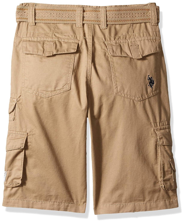 Polo Assn Boys Big Belted Cargo Short U.S