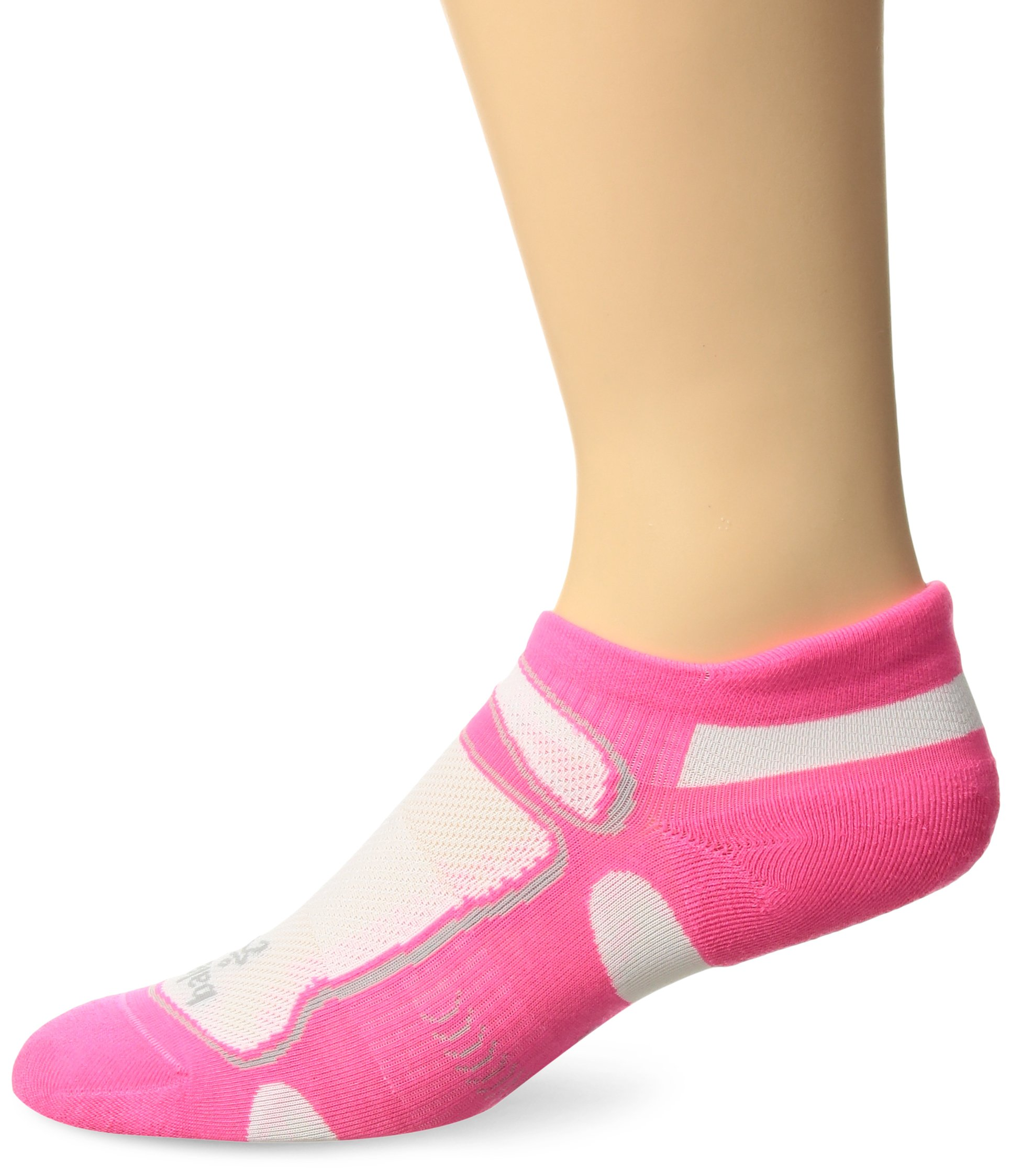 Balega Ultralight No Show Athletic Running Socks for Men and Women (1-Pair), Watermelon, Medium