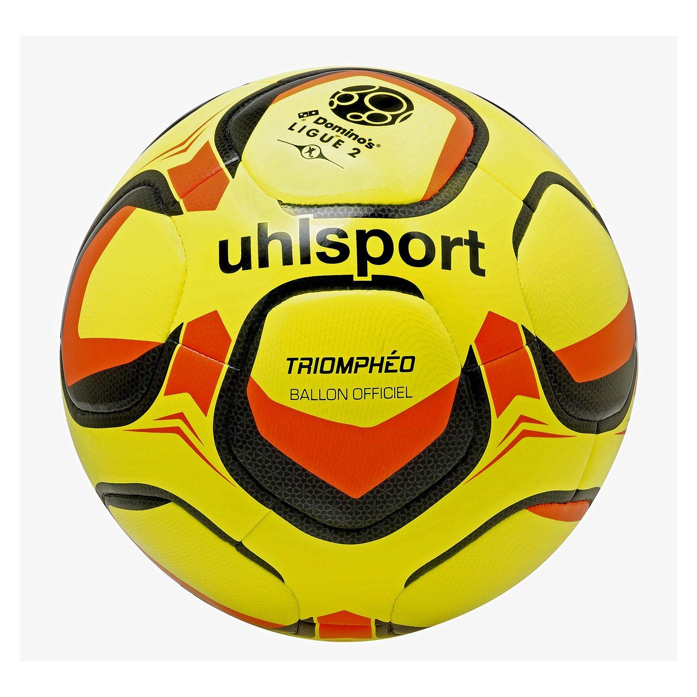 Uhlsport triompheo balón Oficial, Color Jaune Fluo/Noir / Orange ...