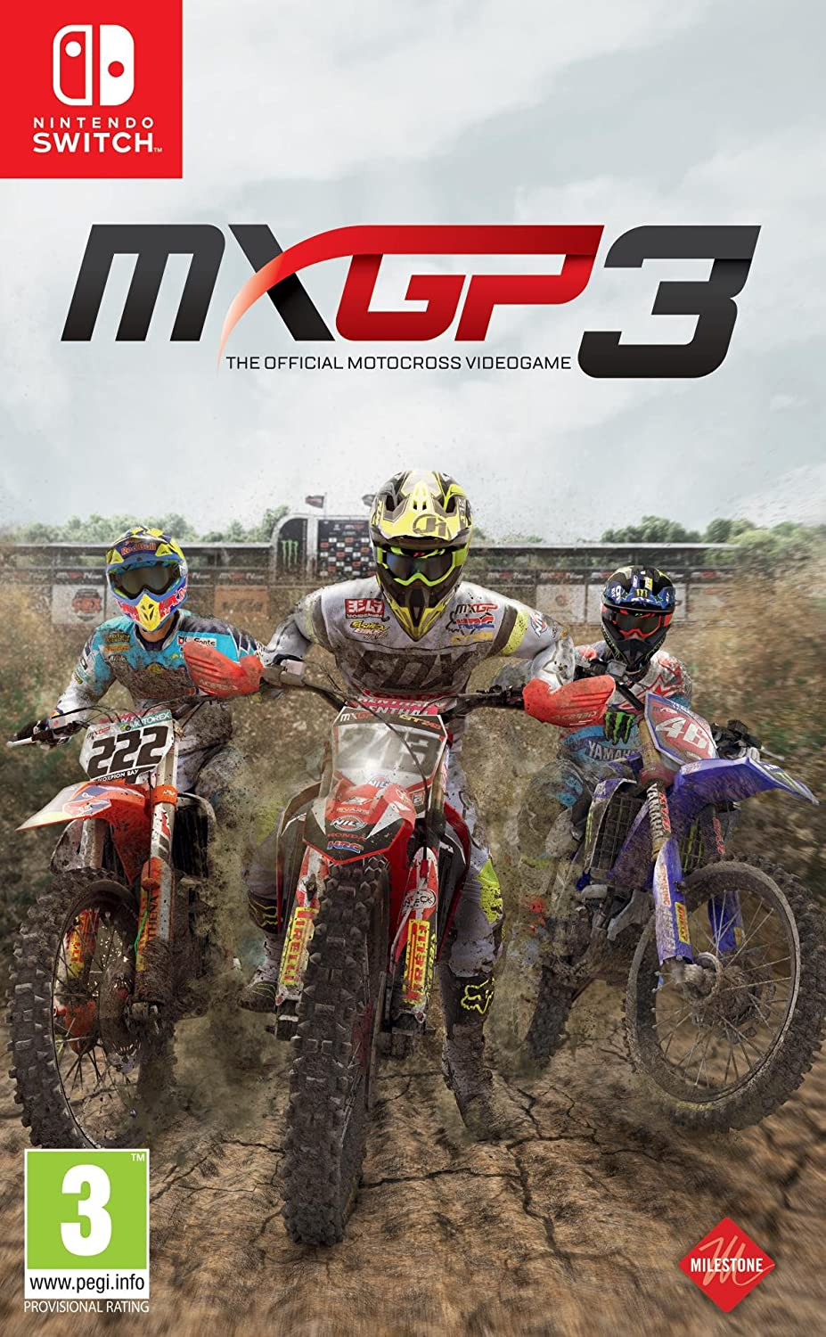 MXGP3 - The Official Motocross Videogame - Nintendo Switch ...