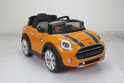 Buy Bmw Mini Cooper 195 Toy Car Orange Online At Low Prices In India