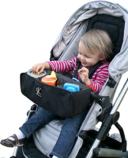 Keys Pushchair Organizer Multi Function Organizer Bag for Hauck rapid 4 Insulated Cup Holders Cell Phone Stroller Bag Diapers Travel Parent Console Stores Bottles Portable Pram Organiser Wallet