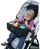 J.L. Childress Food 'N Fun Stroller Snack Tray, Black