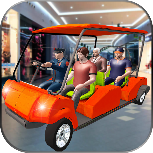 Shopping Mall Smart Taxi Car Driving and Parking Game (Victor Mall)