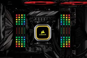 Corsair Dominator Platinum RGB 64GB (8x8GB) DDR4 3200 (PC4-25600) C16 1.35V Desktop Memory (Color: RGB, Tamaño: 64GB (8x8GB))