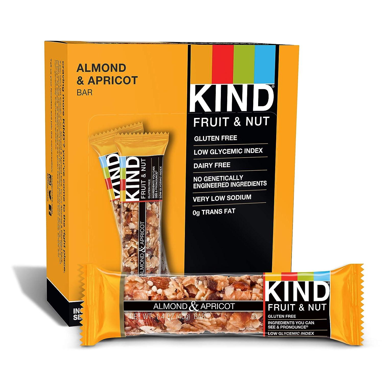 Art Frucht-Nuss-Riegel Mandel-und Apricot - 12 Bars