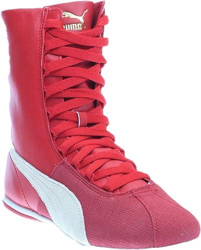 Puma Eskiva Hi Remaster Donna US 8.5 Rosso Scarpe ginnastica