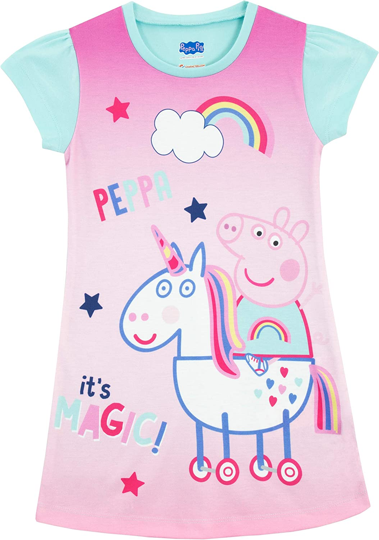 Peppa Pig Girls Nightdress Unicorn