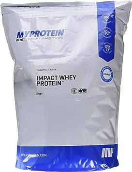 MyProtein Impact Whey Proteína de Suero, Sabor Piña - 5000 gr