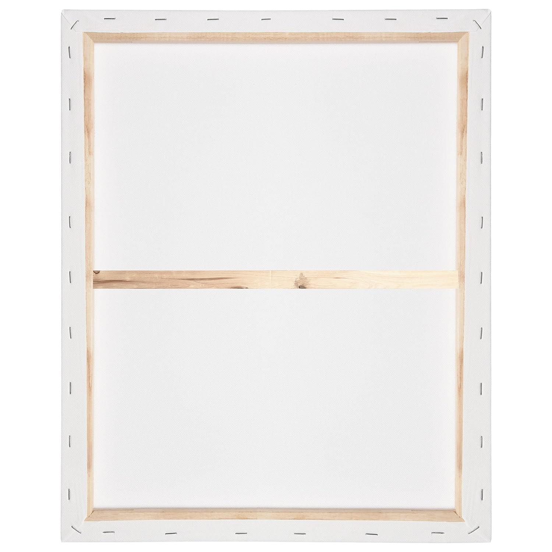 Ch/âssis entoil/é Appr/êt/ée 2 fois Artina Akademie Toile /à peindre Lot de 5-40x100cm 380g//m/²