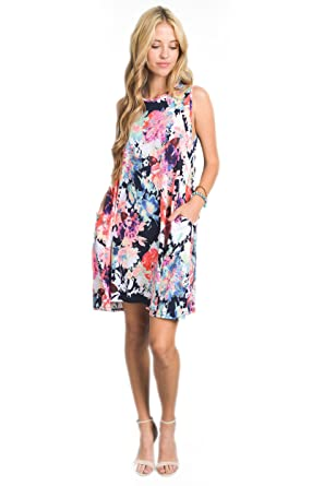 68f44042bbf Image Unavailable. Image not available for. Color  Vanilla Bay Summer  Breeze Dress