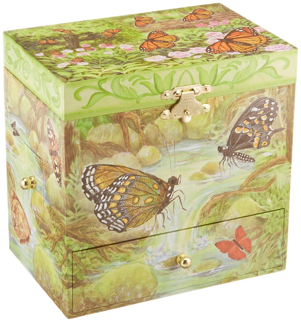 Enchantmints Monarchs Butterfly Music Jewelry Box by Enchantmints (Image #2)