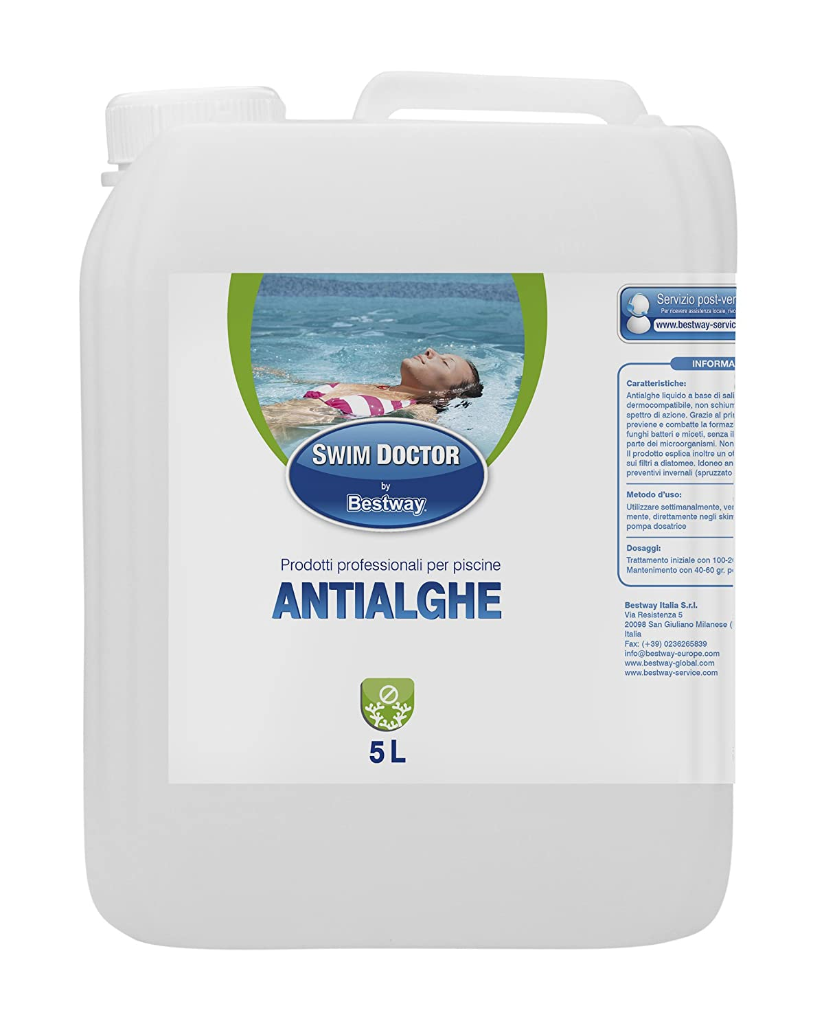 Bestway 59002 Algae Treatment 5 Litres
