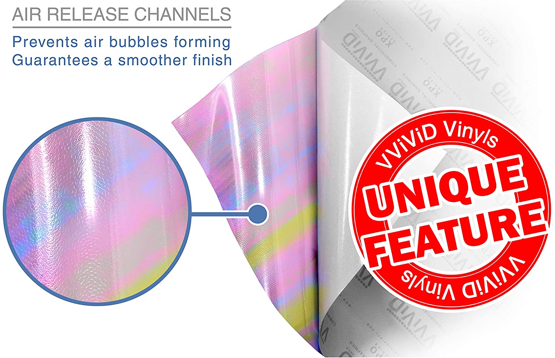 Chameleon Dark Smoke VViViD Extra-Wide Headlight Taillight Vinyl Tint Wrap 16 Inch x 48 Inch Roll