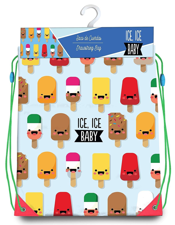 40 cm Kids Bolsa Cordones Gym Bag 40x33cm de Ice Bolsa de Cuerdas para El Gimnasio