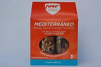 MEDITERRÁNEO. Pasas, Almendras y Nueces (pack 6 uds.) Nuts4Fitness: Amazon.es: Jardín