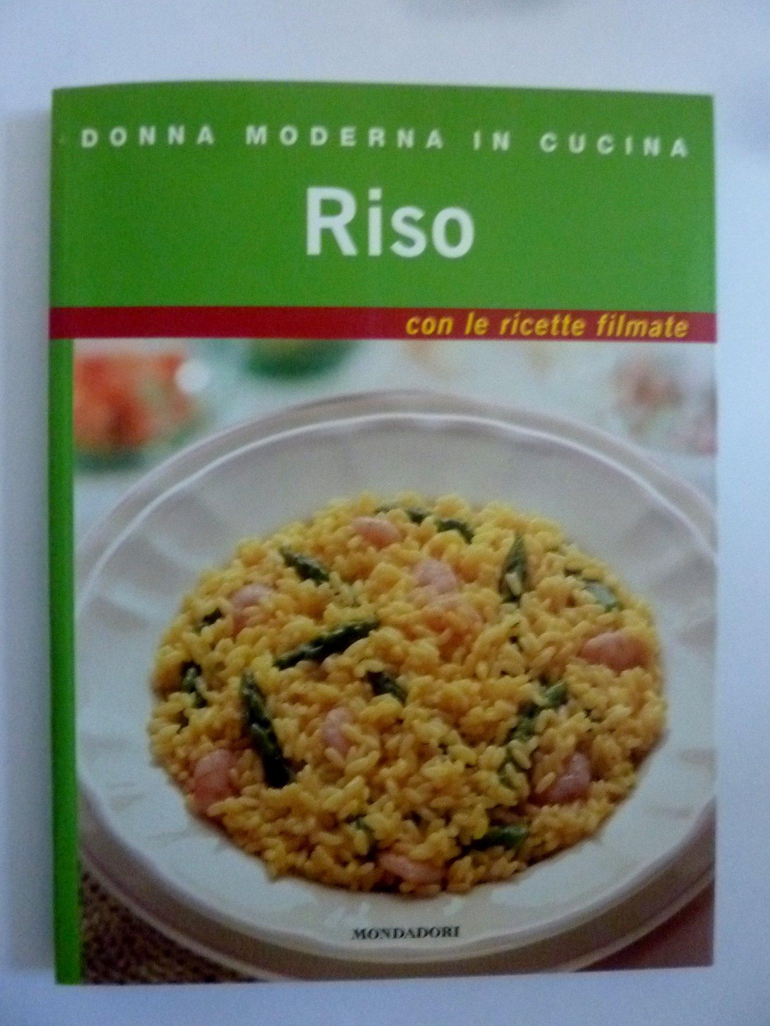 Amazon.it: DONNA MODERNA IN CUCINA Riso con le ricette filmate - AA ...
