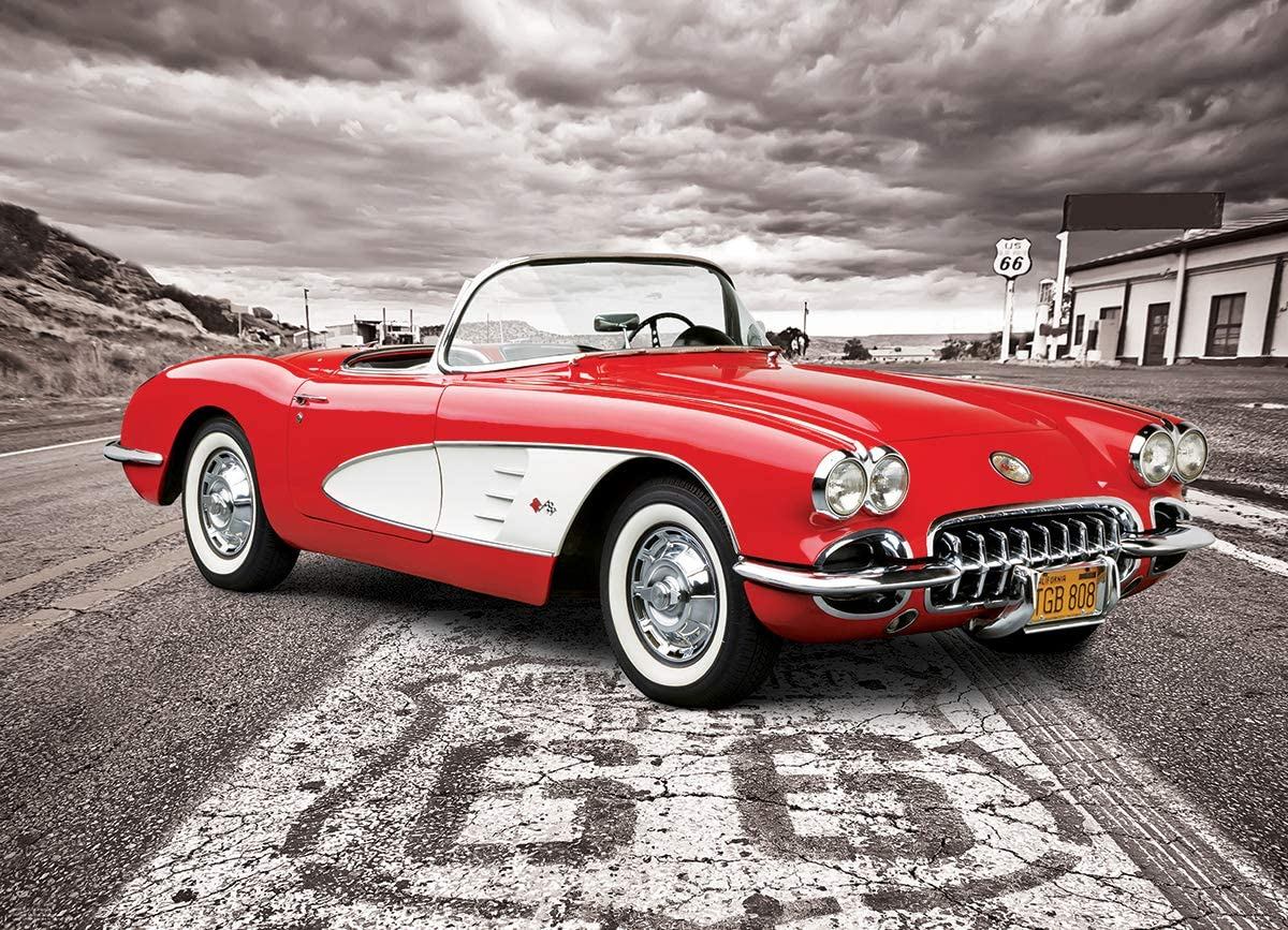 Amazon.com: EuroGraphics 1959 Corvette 1000 Piece Puzzle: Toys & Games