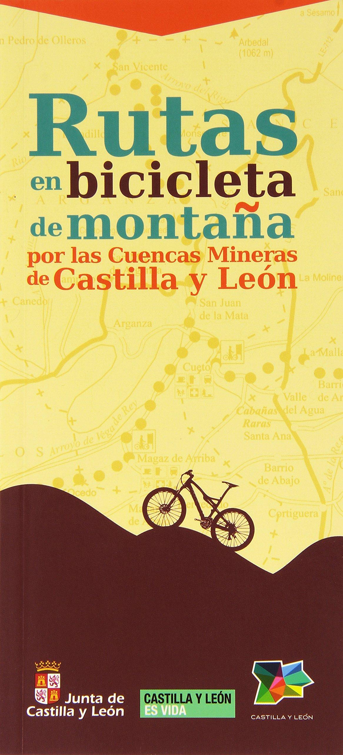 Rutas en bicicleta de montaña por las Cuencas Mineras de Castilla y León: Amazon.es: Varios autores: Libros