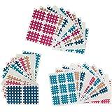 102 piezas Caja surtida de parches de tiras cruzadas Tamanos A, B e C Kinesiologia 'Cross Tape'