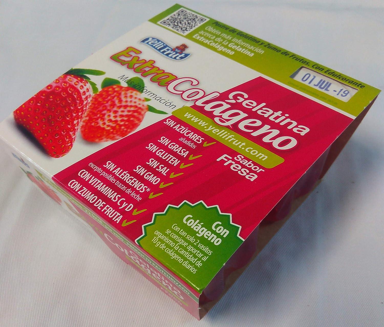 Extracolágeno Yelli Frut. Caja con 4 packs de Gelatina con ...