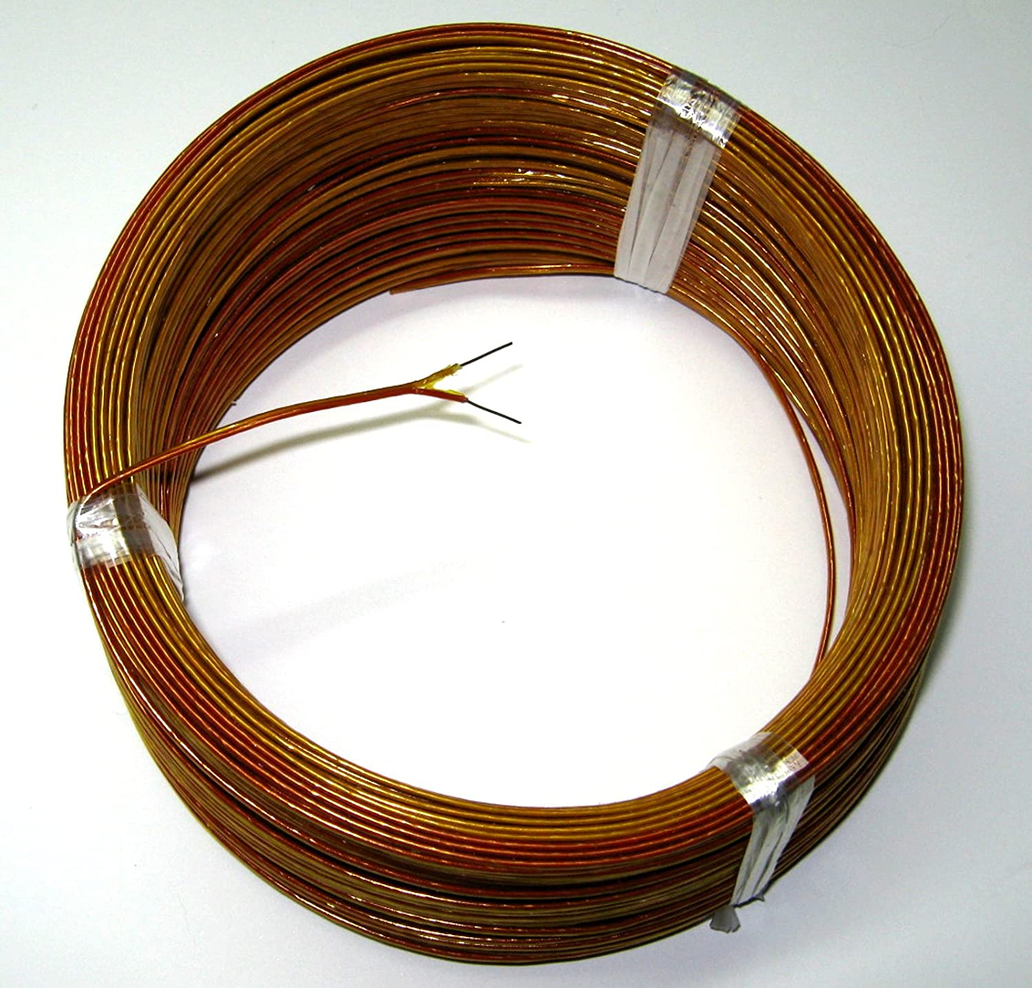 High Temperature K-type Thermocouple Wire AWG 24 w. Kapton ...