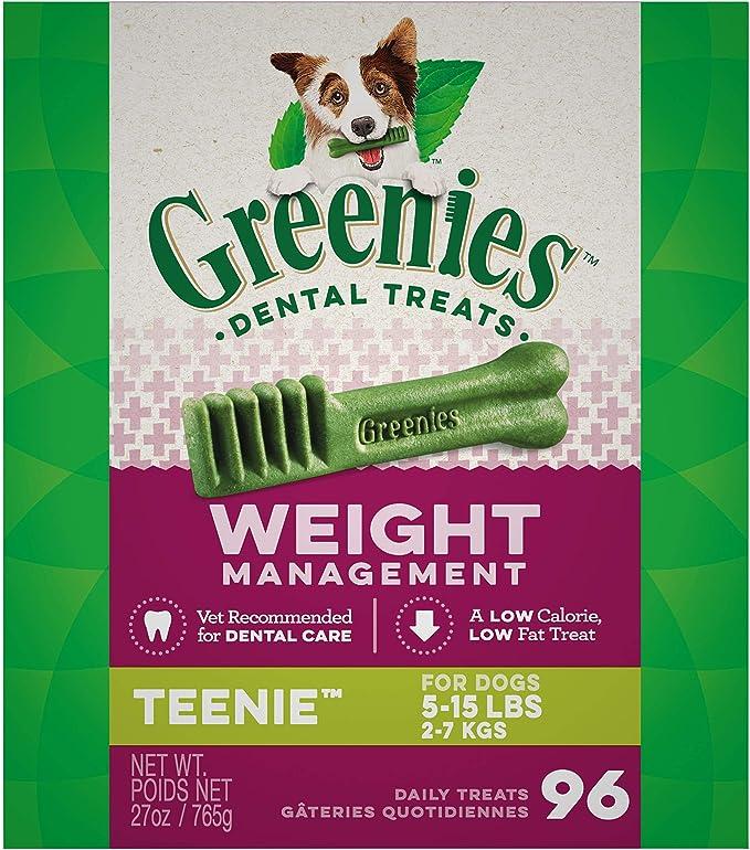 Greenies Weight Management Dental Dog Treats   Chewy