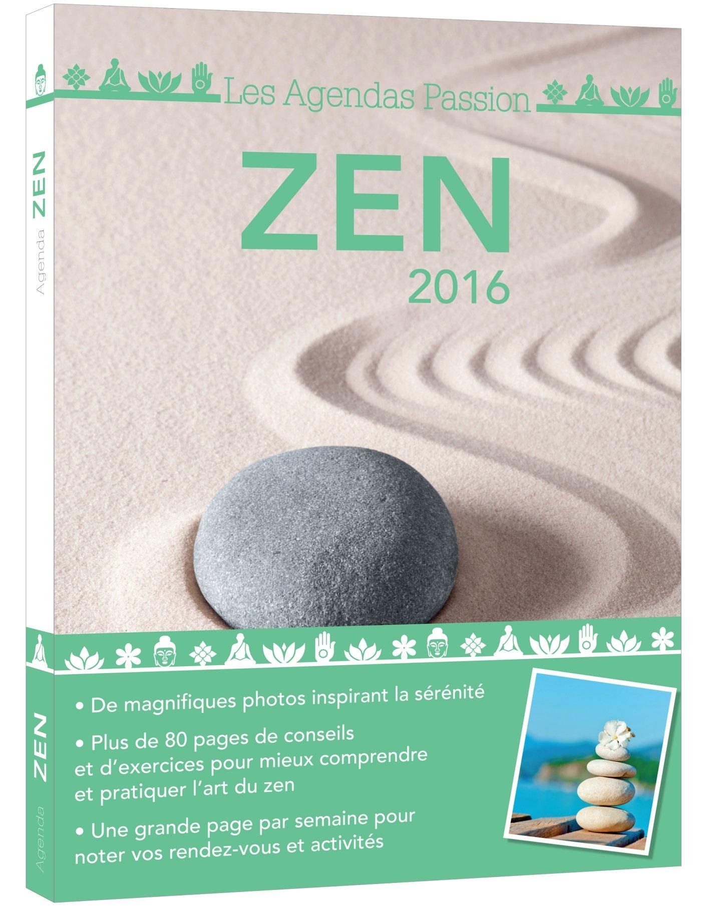 AGENDA PASSION ZEN 2016 (ED.365 AGE.PASS): Amazon.es: Erik ...