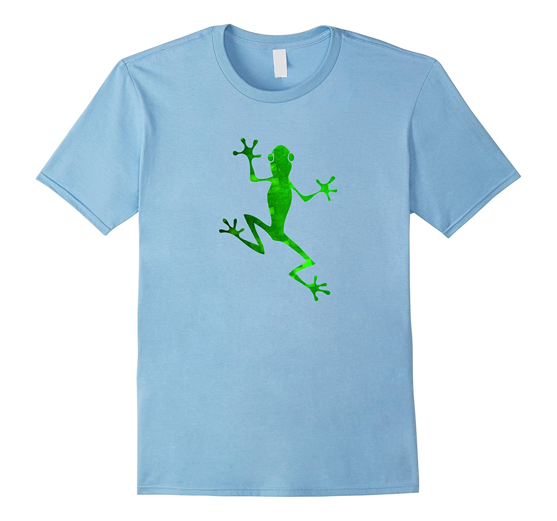 Green Tree Frog Tee T Shirt-ANZ