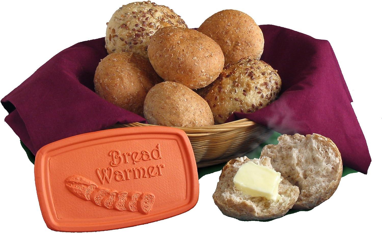JBK Terra Cotta 5 x 3 Inch Bread Warmer Tile