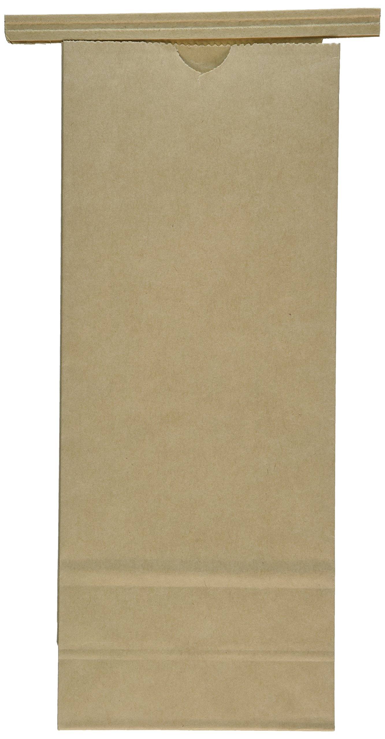 kraft tin tie coffee bags 1 lb 50 pcs (Brown)
