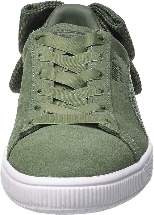 PUMA Damen Suede Bow Uprising WN's Sneaker: