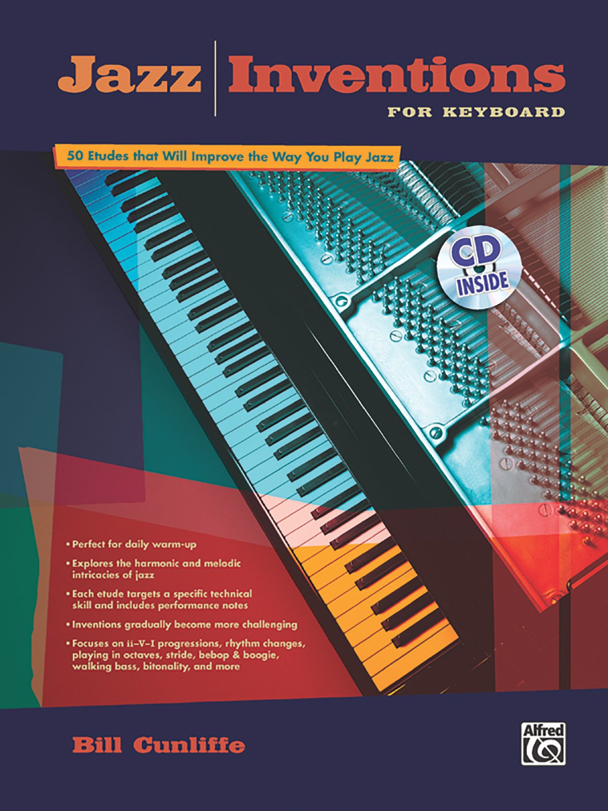 Download Jazz Inventions for Keyboard: 50 Etudes That Will Improve the Way You Play Jazz, Book & CD pdf epub