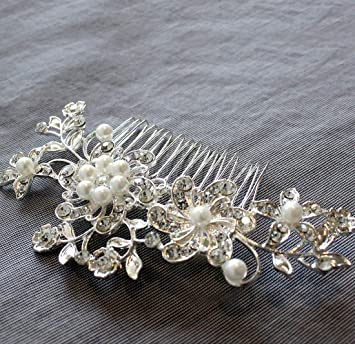 Amazoncom Wedding Hair Comb For Bride Maid Of Honor Gift