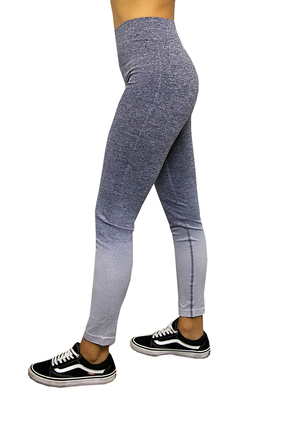 Embrace Womens Fitness Leggings Soft Elastic Spandex Wicking Material for Walking Yoga Running Workouts