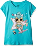 L.O.L. Surprise! Girls The Glitterati Kitty Queen Short Sleeve T-Shirt Short Sleeve T-Shirt - Blue
