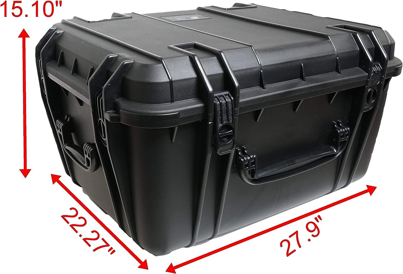 Case Club 19.50 L x 11.00 W x 6.50 H Extreme Duty Hard Waterproof Case